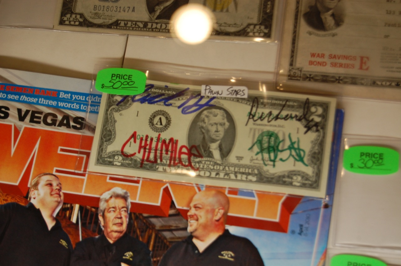 chumlee autograph