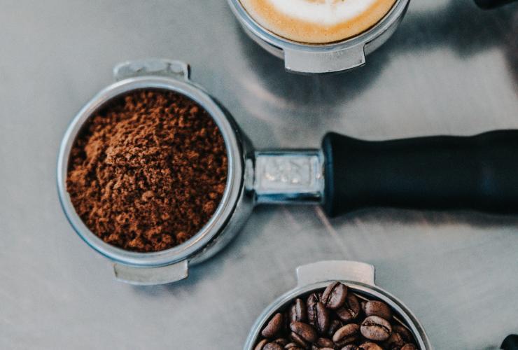 latte, coffee beans, espresso, cafe
