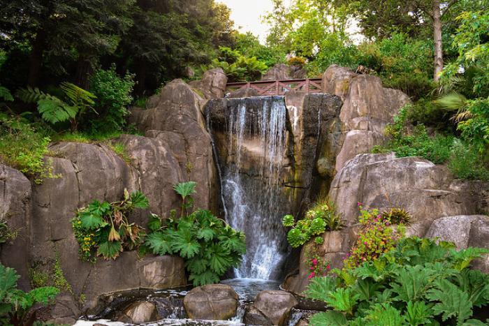 hostels near golden gate park waterfall